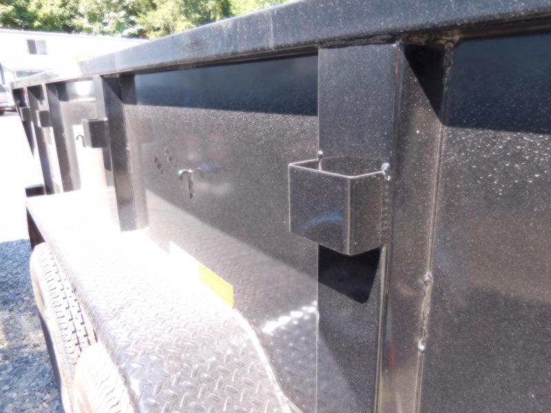 2019 Big Tex 14LX 7x14 14K Dump Trailer - Ramp Kit
