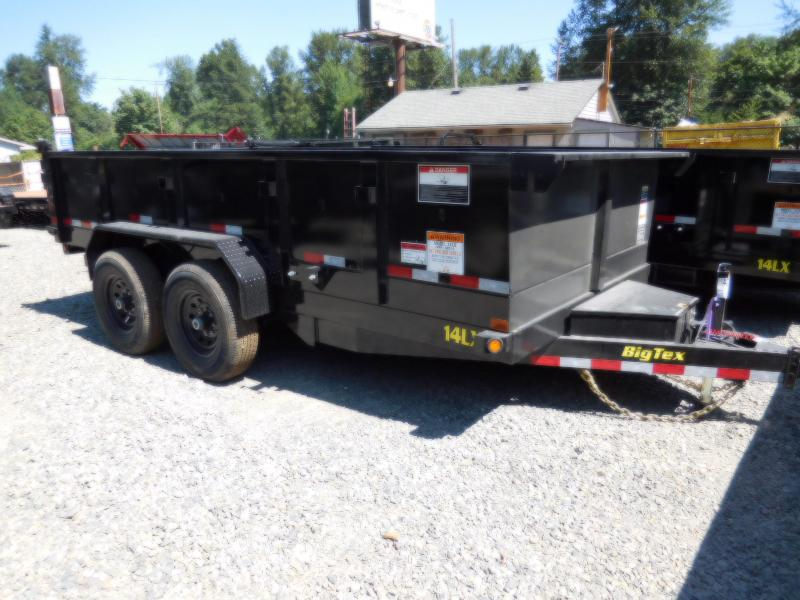 2019 Big Tex 14LX 7x14 14K Dump Trailer - Ramp Kit