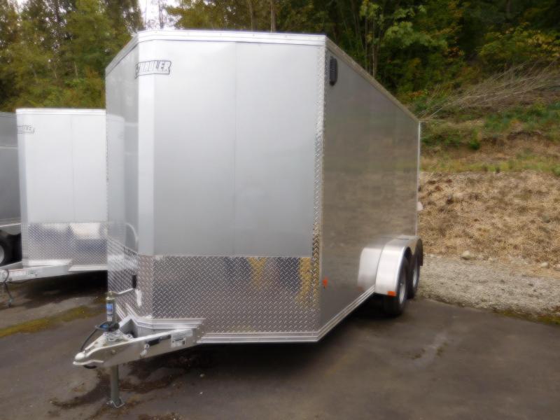 2019 EZ Hauler 7x14 All-Aluminum Enclosed Cargo Trailer w/Lighting Pkg!