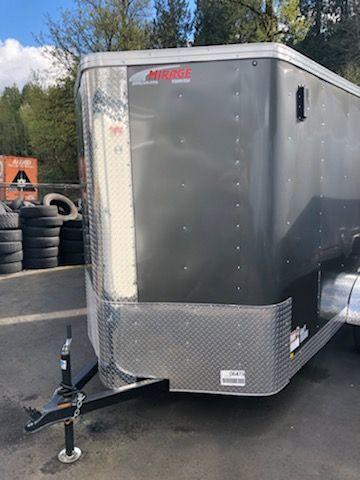 2019 Mirage 6x10 xpres Ramp Door Enclosed Cargo Trailer