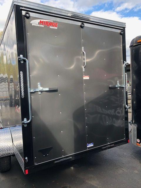 2019 Mirage 6x10 xpres Ramp Door Enclosed Cargo Trailer