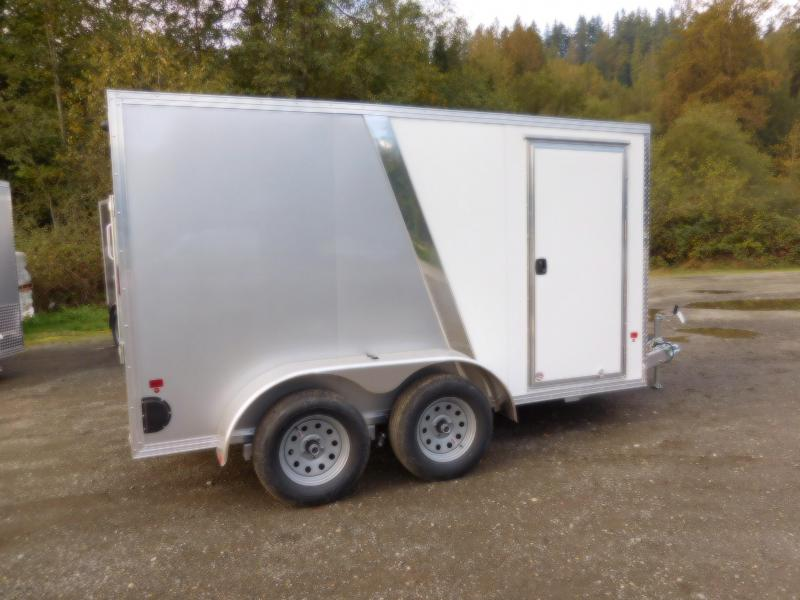 2019 EZ Hauler 6x12 All-Aluminum Tandem Axle 7K Enclosed Cargo Trailer