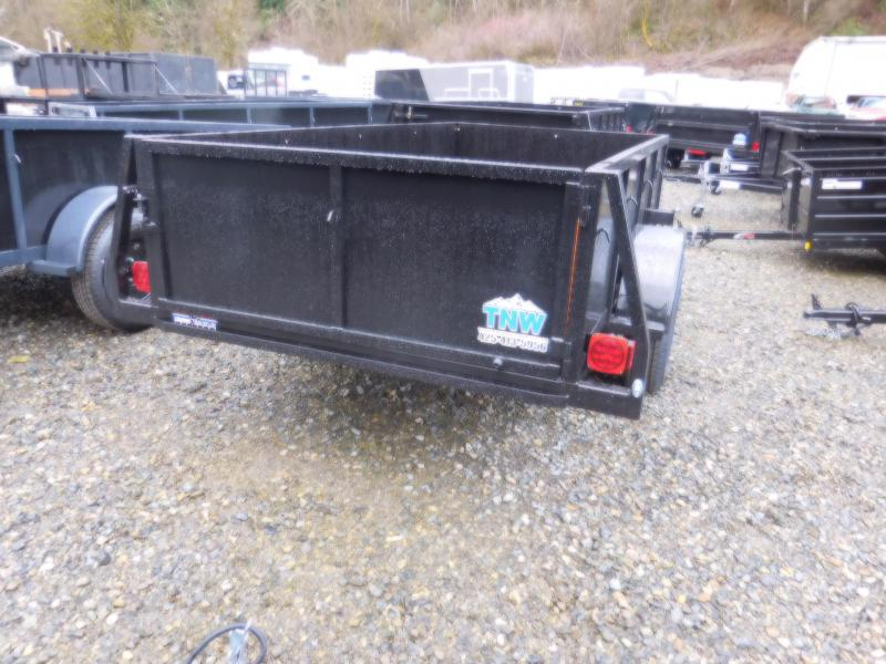 2018 Iron Eagle 5x10 Voyager Series Utility Landscape Trailer with Swing Gate