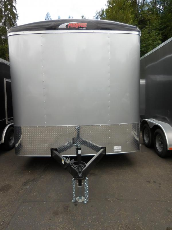 2019 Mirage 8.5x16 XCEL Enclosed Cargo Trailer w/Ramp