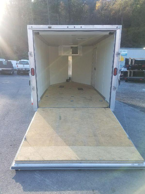 Used 2013 Mission 7x12 TA Enclosed Motorcycle Cargo Trailer