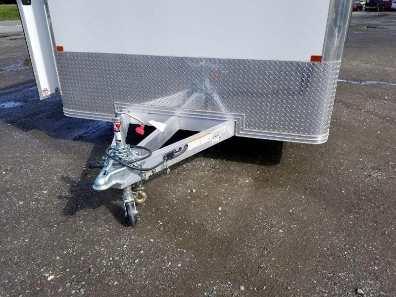 2018 EZ Hauler 8x22 All Aluminum Car Hauler Enclosed Cargo Trailer