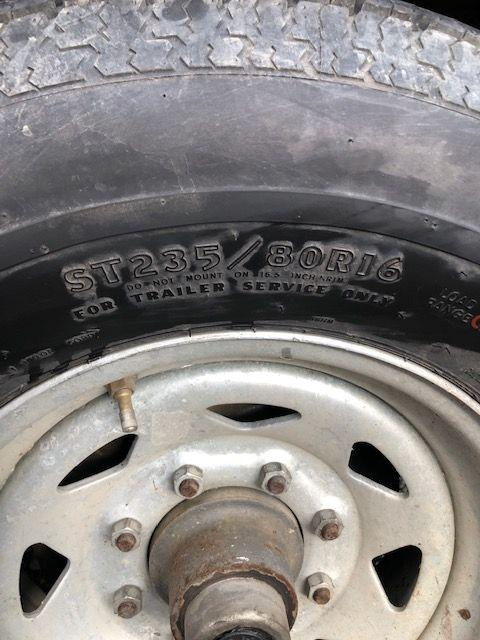 2002 Logan Coach 7x12 Dump Trailer