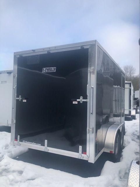 2019 EZ Hauler 7x14 All-Aluminum Enclosed Cargo Trailer