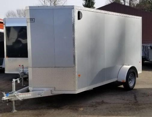2019 EZ Hauler 6x12 Cargo/Enclosed Trailer