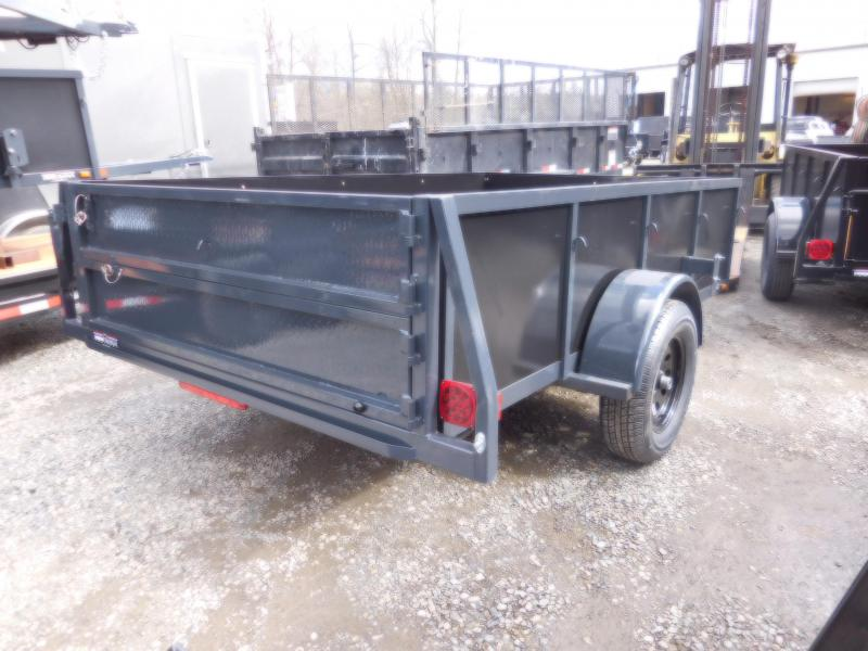 2018 Iron Eagle Voyager 6x10 Utility Landscape Trailer with Combo Split Ramp Gate