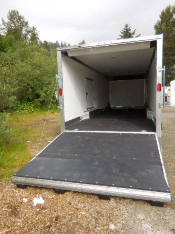2018 EZ Hauler 8x24 10K Enclosed Car Hauler Cargo Trailer