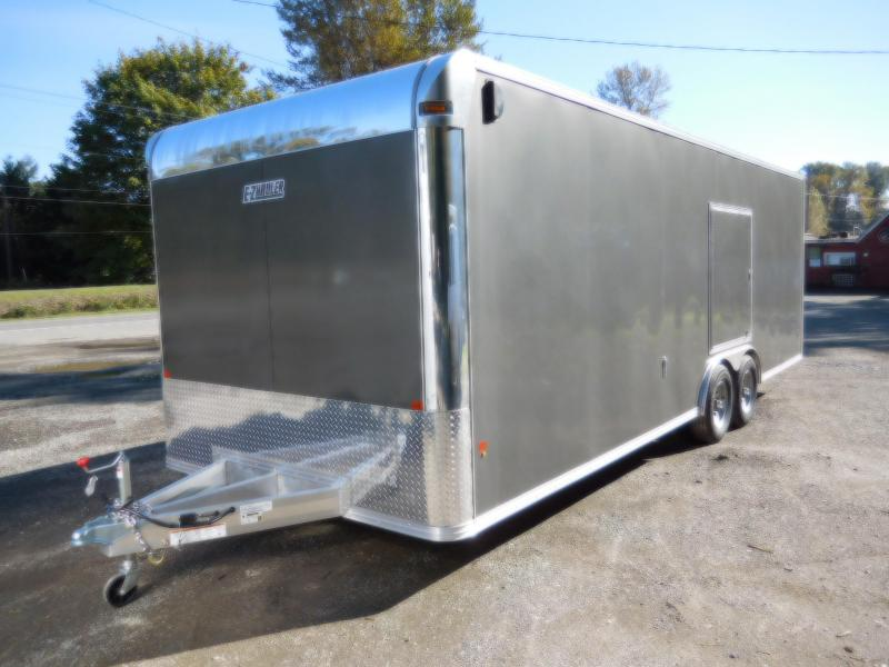 2019 EZ Hauler 8x24 All-Aluminum 10K Enclosed Car Hauler Cargo Trailer