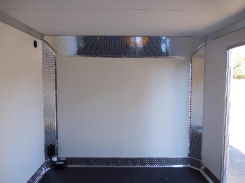 2019 EZ Hauler 8x24 All-Aluminum 10K Enclosed Car Hauler Cargo Trailer