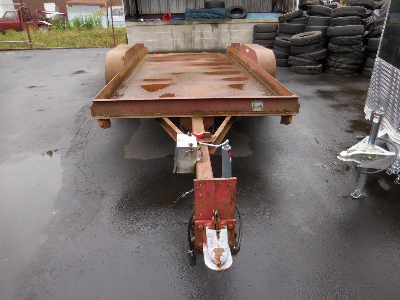 1999 Butler 7x16 12k tilt Equipment Trailer