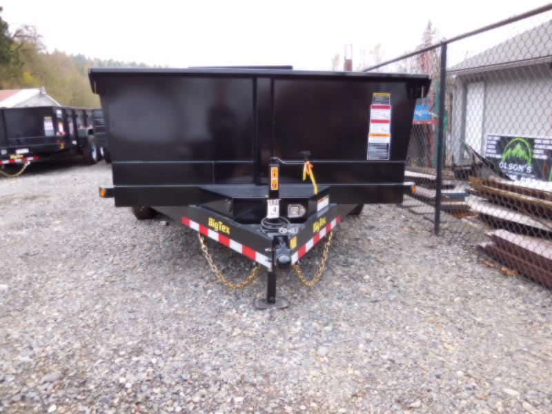 2018 14K Big Tex Trailers 83x14 Dump Trailer with Ramps