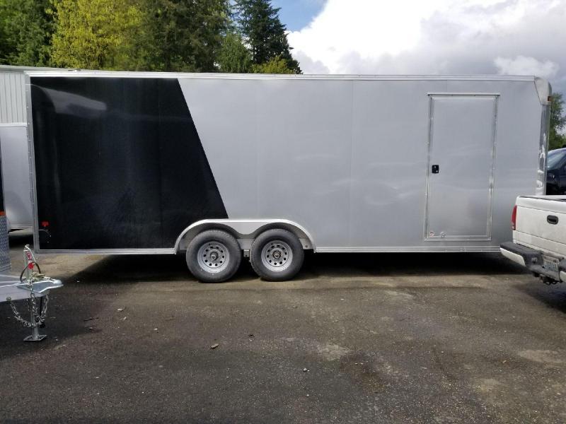2018 EZ Hauler 8x22 All-Aluminum 10K Enclosed Car Hauler Cargo Trailer