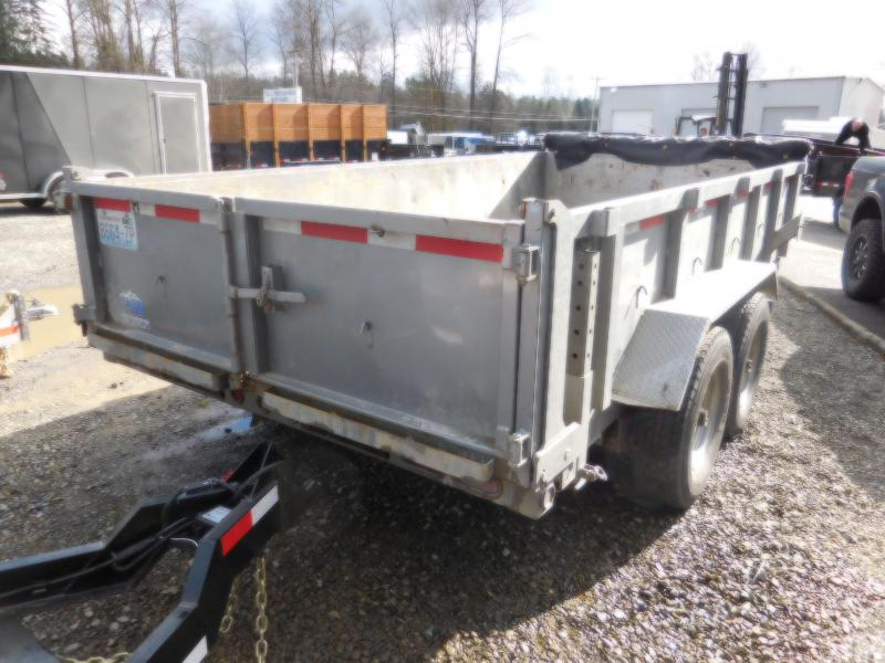 Used 2016 ABU 7x14 14K Industrial Dump Trailer