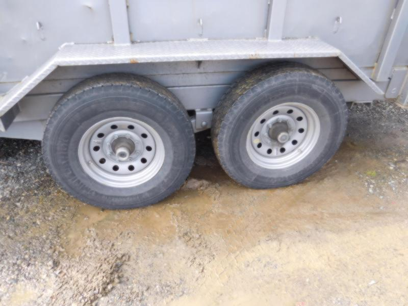 Used 2016 ABU 7x14 14K Industrial Dump Trailer with Combo Tailgate