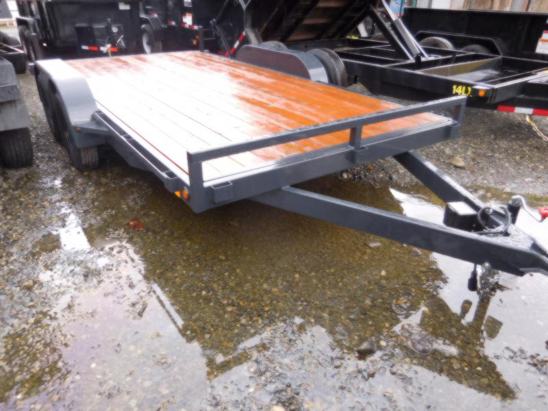 2018 Iron Eagle 7K Series 7x14 Flatbed Trailer with Ramps