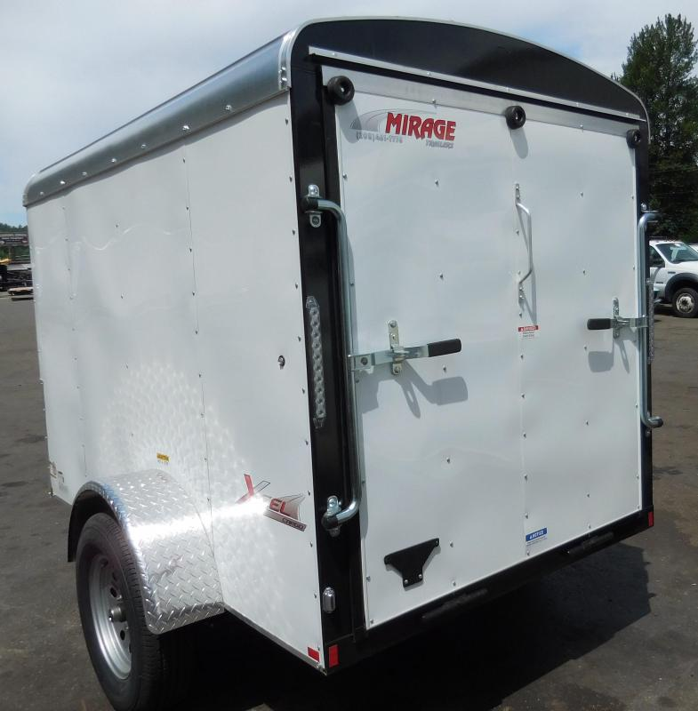 2019 Mirage Trailers 5x8 XCEL Enclosed Cargo Trailer