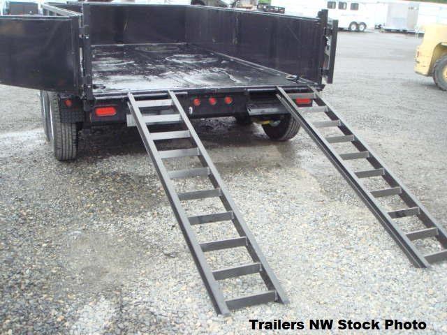 2019 Big Tex 14LX 83x14 Dump 14K Trailer with Ramp Kit