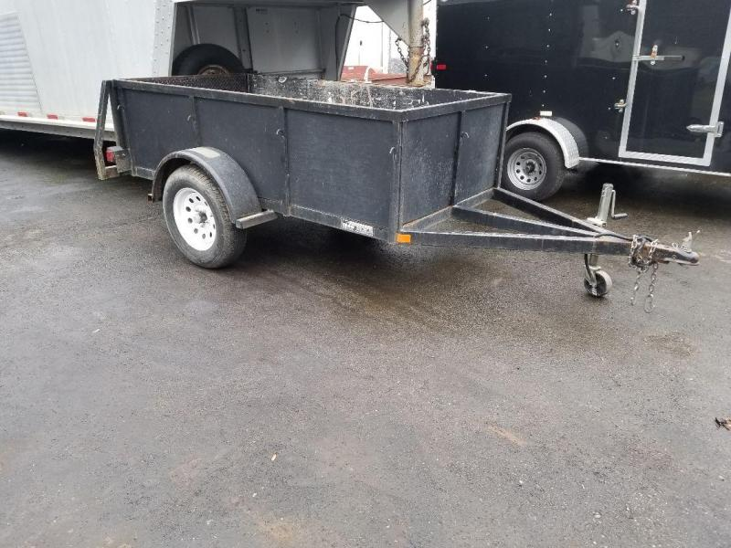 2007 Iron Eagle 4x8x2 Voyager Series Utility Trailer