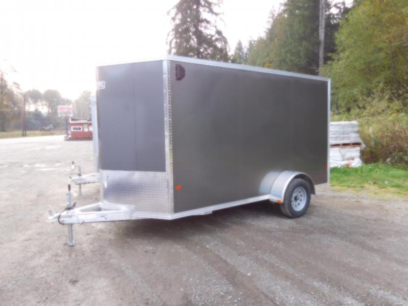 2019 EZ Hauler 6x12 All-Aluminum Enclosed Cargo Trailer