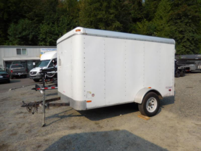Used 2008 Pace American 6x10 Enclosed Cargo Trailer with Barn Doors