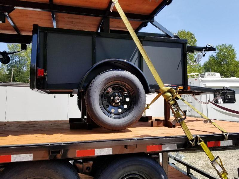 2018 Iron Eagle 4x6 Voyager Series Utility Trailer with Swing Gate