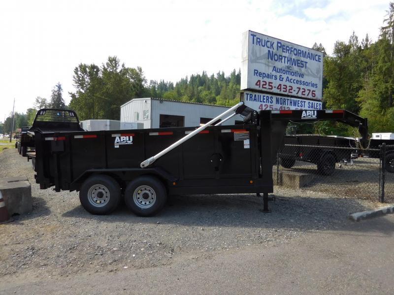 2019 ABU 82x14 16k  Gooseneck Dump Trailer 16
