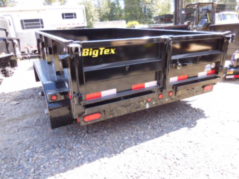 2019 Big Tex 90SR 6x10 10K Dump Trailer - Ramp Kit