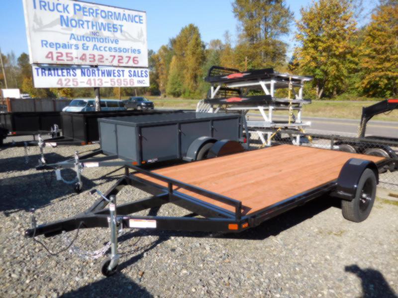 2019 Iron Eagle 6.5x12 ATV Series Flatbed Trailer
