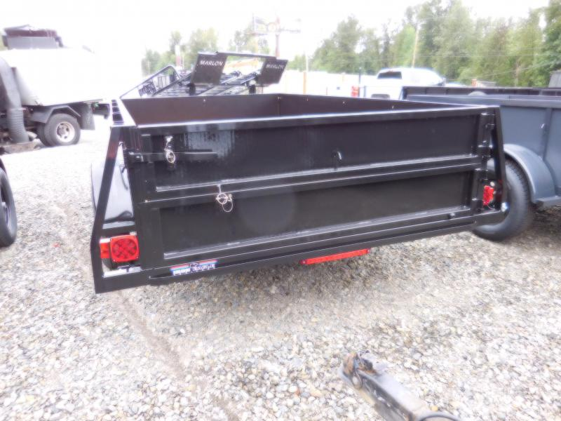 2018 Iron Eagle 6x10 Voyager Series Utility Trailer - Split Ramp Combo Tailgate