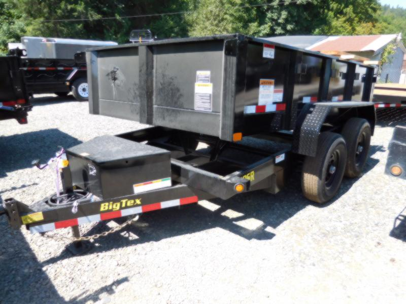 2019 Big Tex  6X10 90SR Single-Ram Dump Trailer