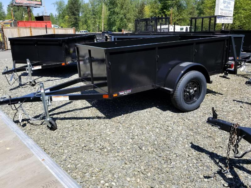 2018 Iron Eagle 4x8 Voyager Series Utility Trailer with Swing Gate