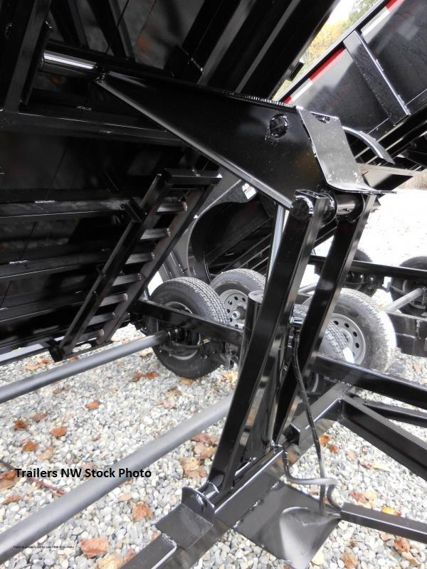 2019 ABU 5x8 Single Axle 5K Dump Trailer