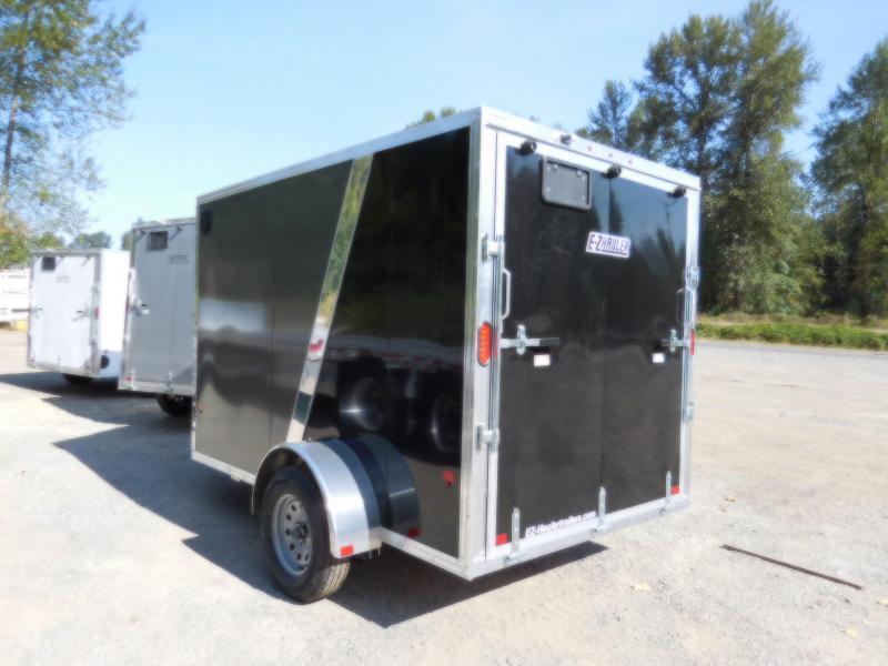 2019 EZ Hauler 6x10 All-Aluminum Enclosed Cargo Trailer w/Rear Ramp