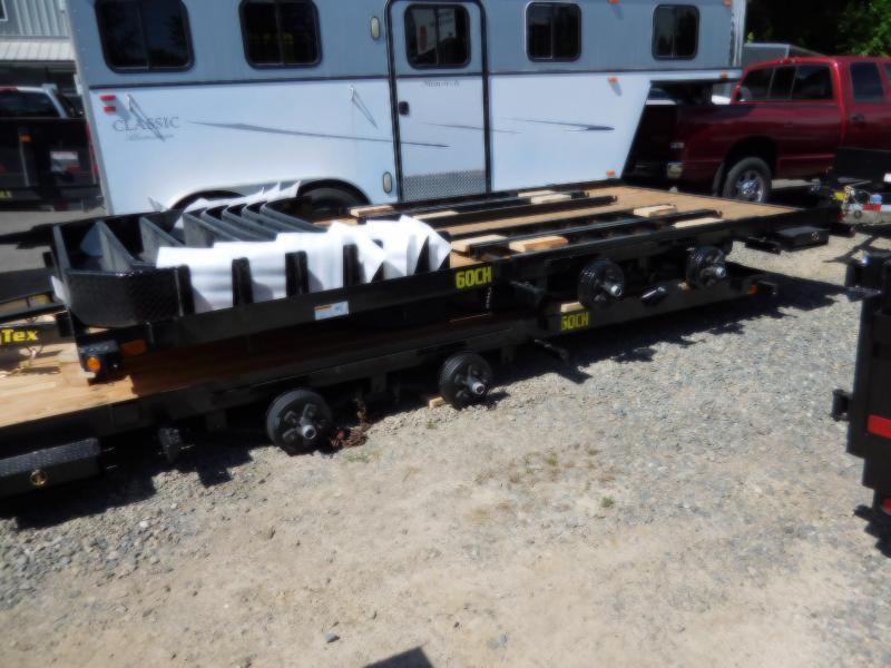 2019 Big Tex Trailers 60CH 7x16 Flatbed Car HaulerTrailer