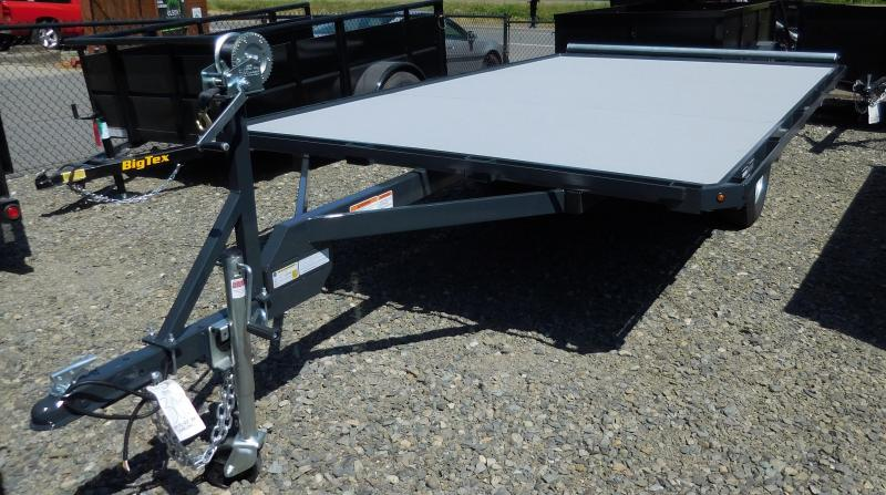 2019 Iron Eagle 7x12 Versamax Raft Flatbed Trailer