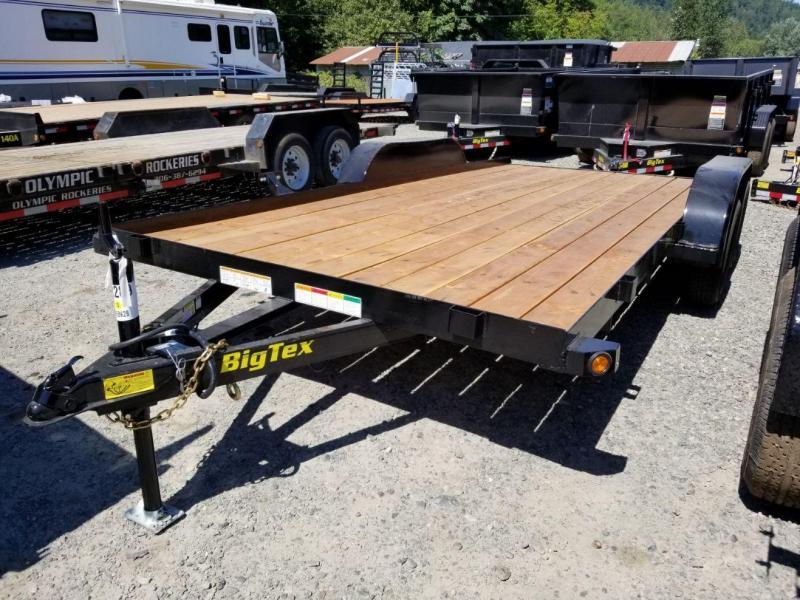 2020 Big Tex Trailers 60CH 7x16 6K Flatbed Car Hauler Trailer