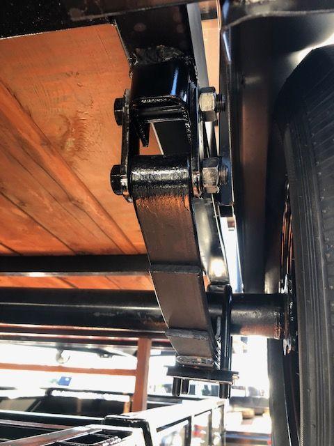 2019 Iron Eagle 6.5x12 Economax Flatbed Trailer