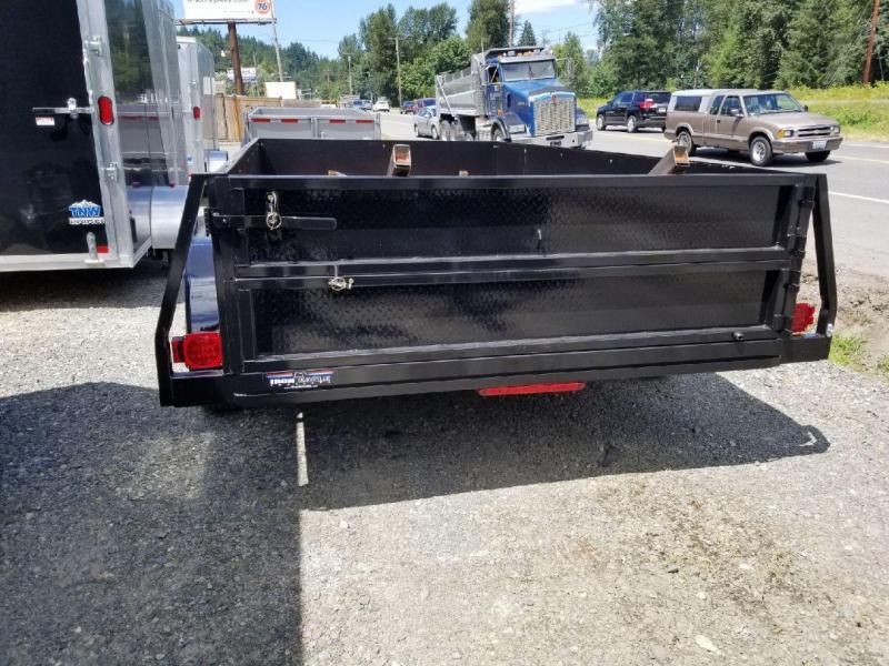 2018 Iron Eagle 6.5x12 Voyager Series 7K TA Utility Trailer - Split Ramp Tailgate