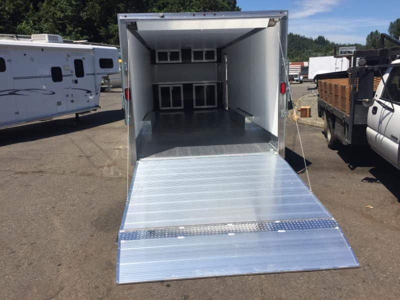 2018 Mission & EZ Hauler All Aluminum Enclosed Cargo Trailer's
