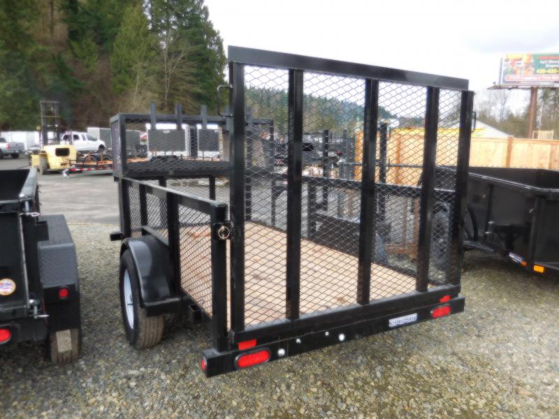 2018 Big Tex 5x10 Landscape Trailer with Rear Ramp