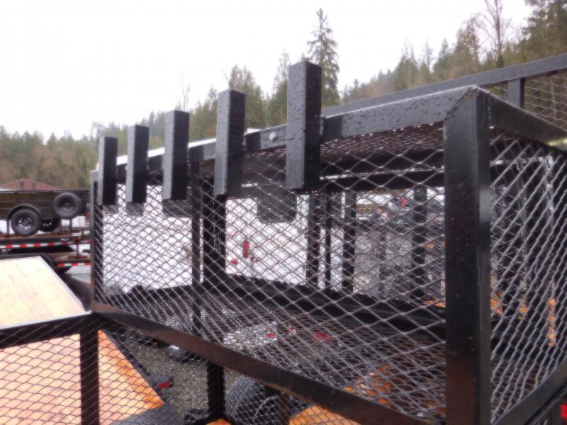 2018 Big Tex 5x10 Landscape Utility Trailer with Rear Ramp