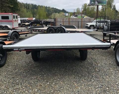 2019 Iron Eagle 6x12 Versamax Flatbed Trailer