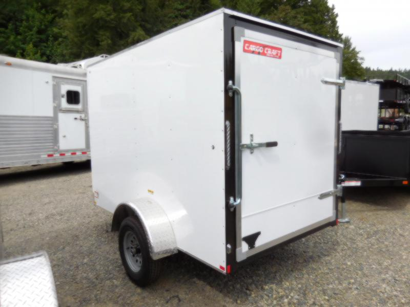 2018 Mirage 5x8 Cargo Craft Enclosed Cargo Trailer   - Single Rear Door