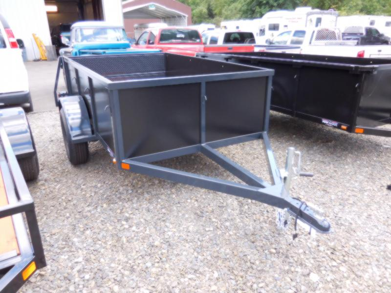 2018 Iron Eagle 5x8 Voyager Series Utility Landscape Trailer