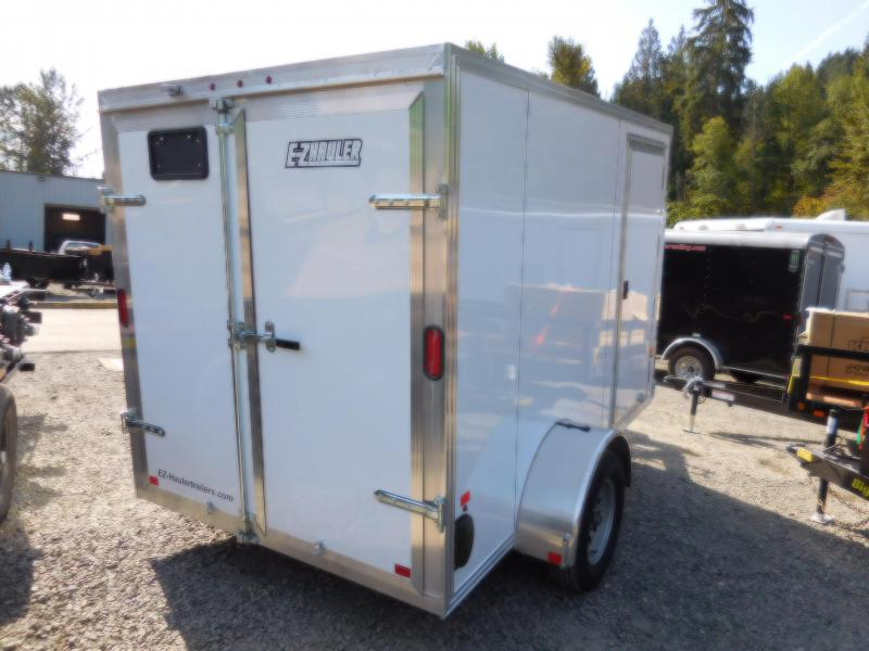 2018 EZ Hauler 6x10 All-Aluminum Enclosed Cargo Trailer w/Barn Doors