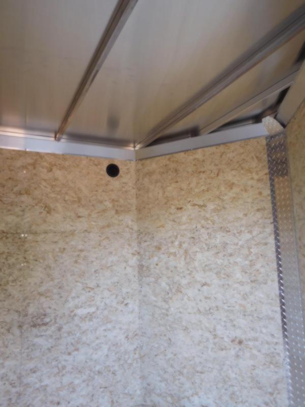 2018 EZ Hauler 6x10 All-Aluminum Enclosed Cargo Trailer w/Barn Doors